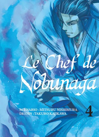 Le Chef de Nobunaga, tome 4