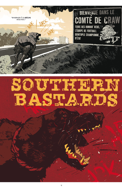 Southern Bastards tome 1 - Ici repose un homme