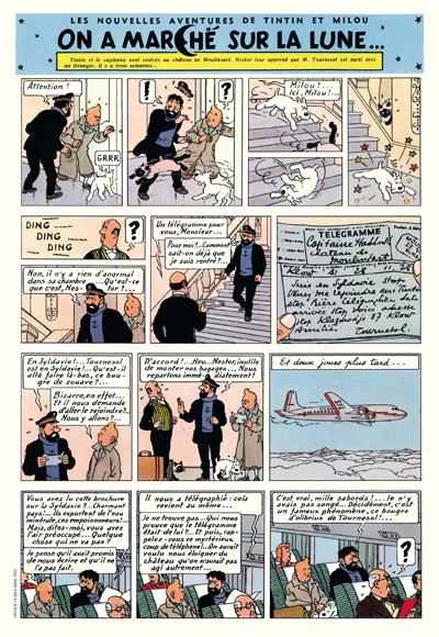 Hergé - Le feuilleton intégral tome 11 - 1950-1958