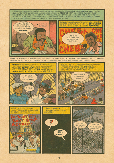 Hip hop Family Tree tome 1 - 1970s-1981