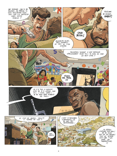 Rio tome 2 - Les Yeux de la favela