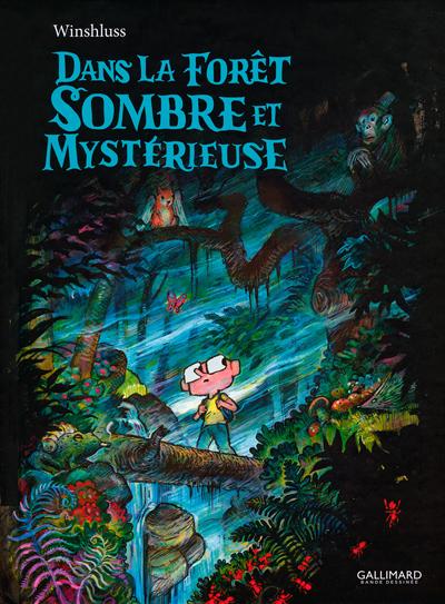 Dans la Forêt sombre et mystérieuse