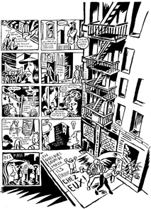 Quartier en guerre - New York, années 1980